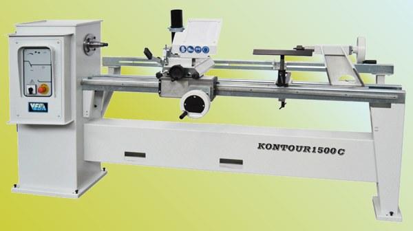 Veba torni v kontour 1200 1500 per la lavorazione del for Tornio per legno con copiatore usato